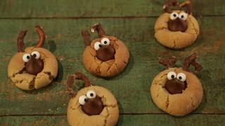 reindeer peanut butter cookies - Christmas Peanut Butter Cookies
