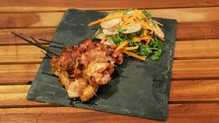Chicken yakitori recipe the chew abc chicken yakitori forumfinder Image collections