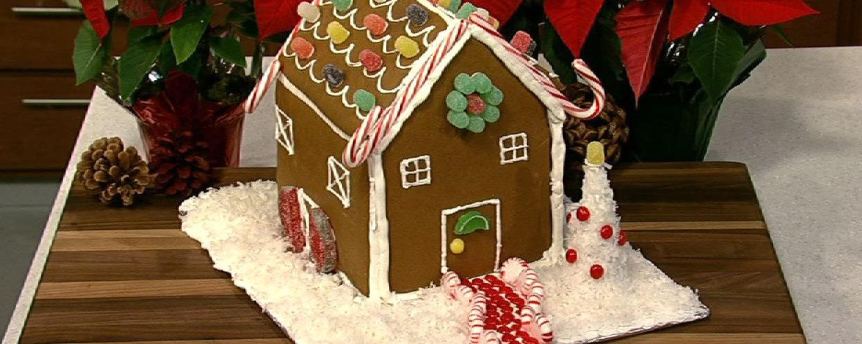 Carla Halls Gingerbread House Recipe The Chew Abc