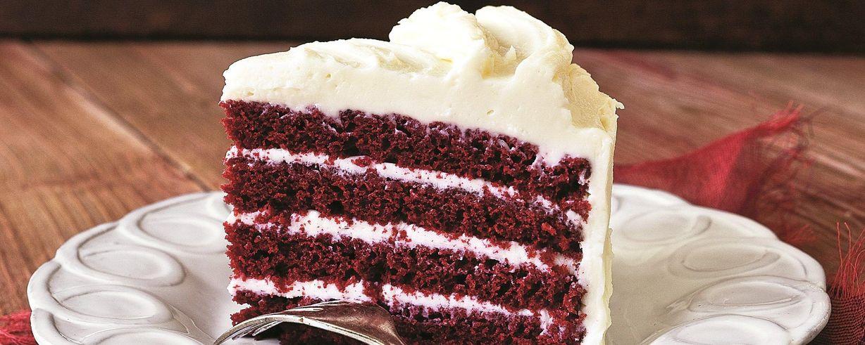 The Chew Red Velvet Cake