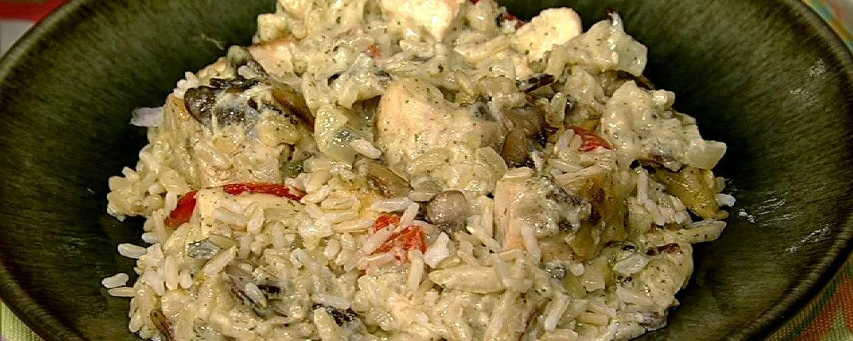 Chicken And Wild Rice Casserole Recipe The Chew Abc