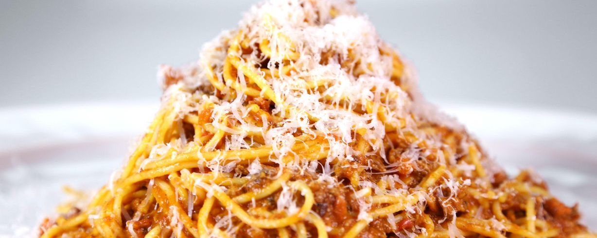 Spaghetti Bolognese Recipe The Chew Abc Com