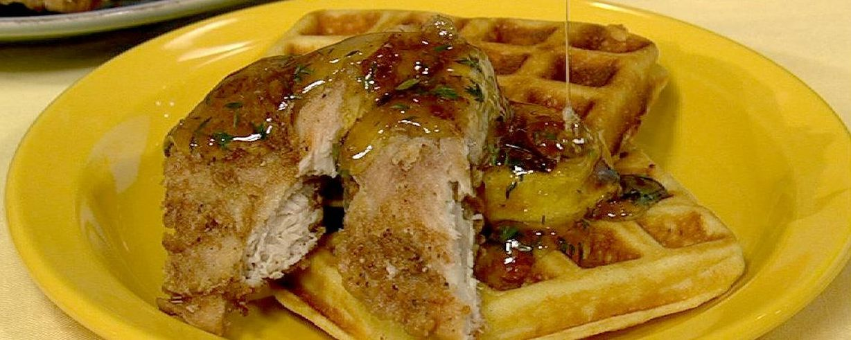 Chicken and waffles recipe the chew abc forumfinder Gallery