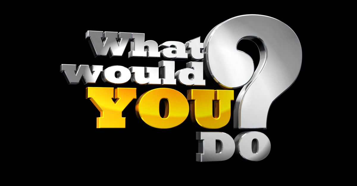 Watch What Would You Do? TV Show - ABC.com