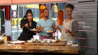 Strahan and Sara: 07/12/19: Chef Carla Hall Brings Her Essence Fest Culinary Delights to the Show Watch Full Episode   01/187/season