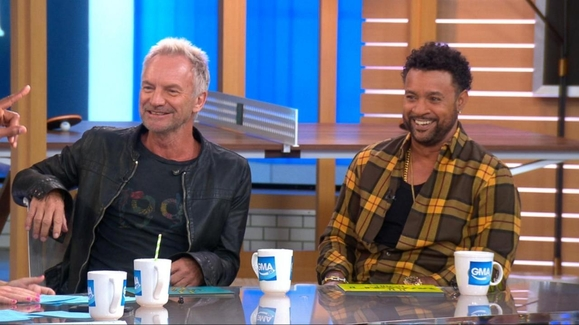 GMA Day: 09/25/18: Sting and Shaggy Perfectly Impersonate Each Other Watch Full Episode | 09/25/2018
