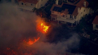 Good Morning America: 10/12/19: Wildfire Forcing Evacuations and Destroying Homes Watch Full Episode | 10/12/2019