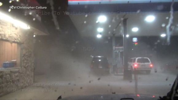 WATCH: Severe weather strikes the Midwest Video   Good ...