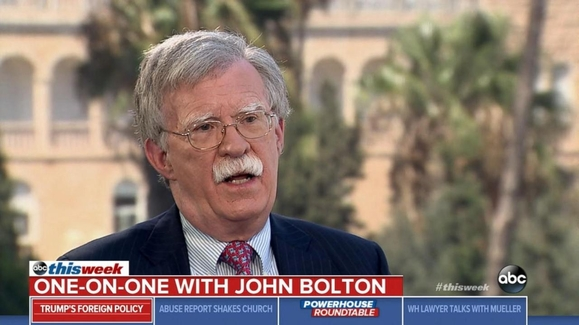 This Week with George Stephanopoulos: 08/19/18: Bolton: '4 Countries' Could Interfere in Midterm Elections Watch Full Episode | 08/19/2018