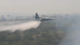 World News Tonight with David Muir: 08/25/19: Brazil's Air Force Deployed Tankers to Drop Water on the Amazon as it Burns Watch Full Episode | 08/24/2019