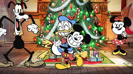 duck the halls a mickey mouse christmas special - Mickey Mouse Christmas Videos