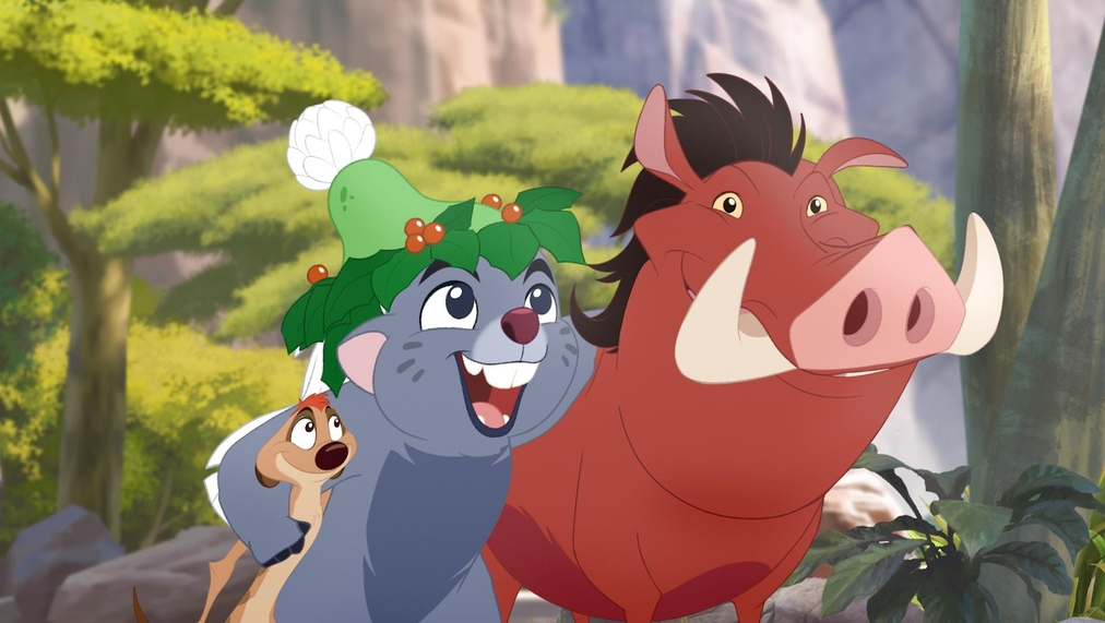 Watch Timon and Pumbaa's Christmas