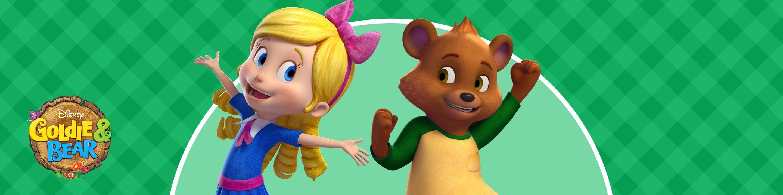 Watch Goldie & Bear TV Show | Disney Junior on DisneyNOW