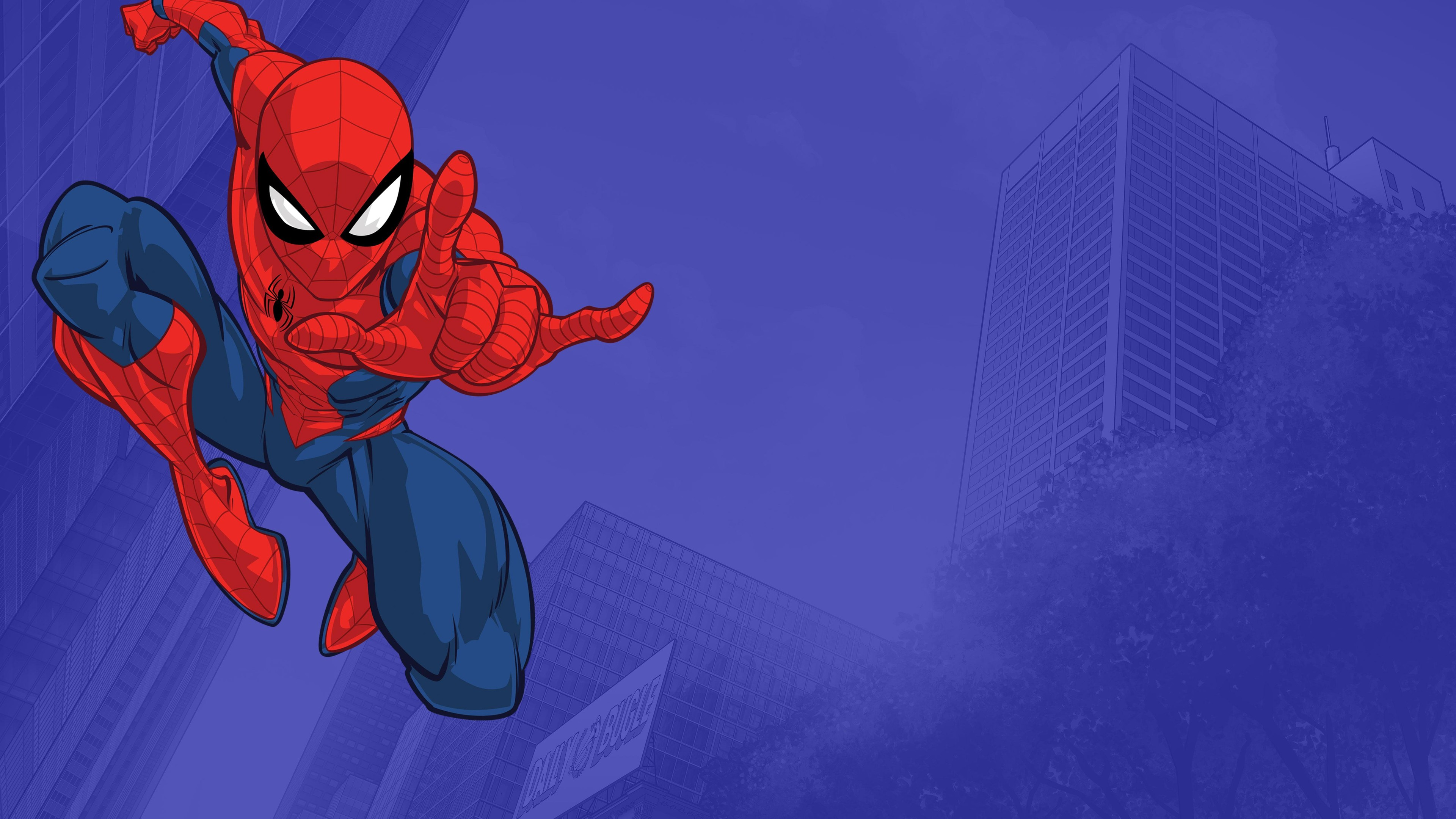 Watch Marvel S Spider Man Tv Show Disney Xd On Disneynow