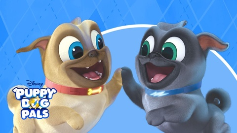 Watch Puppy Dog Pals Tv Show Disney Junior On Disneynow
