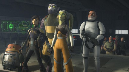 Watch Star Wars Rebels TV Show | Disney XD on DisneyNOW