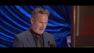 TENET Accepts the Oscar for Visual Effects - Oscars 2021